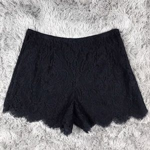 Ralph Lauren Rugby High Waisted Lace Shorts